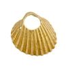 Bronze Pendant Shell 21mm